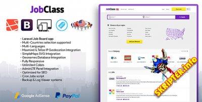 JobClass v6.0.4 Nulled - скрипт доски объявлений