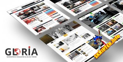 Gloria v2.2 - многофункциональный шаблон для WordPress