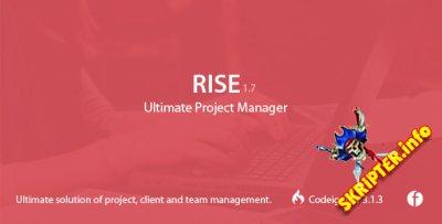 Rise v1.7 - менеджер проектов