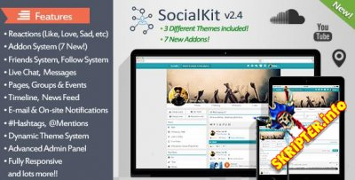 SocialKit v2.5 nulled