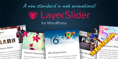 LayerSlider v6.5.1 - анимированный слайдер для WordPress