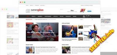 JS NewsPlus v1.6 - новостной шаблон для Joomla