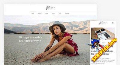 YooJoline v1.4.3 - блоговый шаблон для Joomla