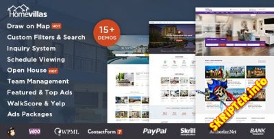 Home Villas v1.4 - шаблон недвижимости для WordPress