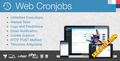 Web Cronjobs v1.2 Rus - скрипт управления cronjobs