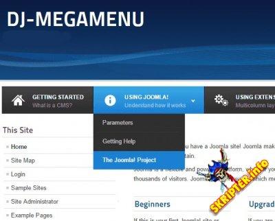 DJ-MegaMenu v3.5.1.1 - модуль меню для Joomla