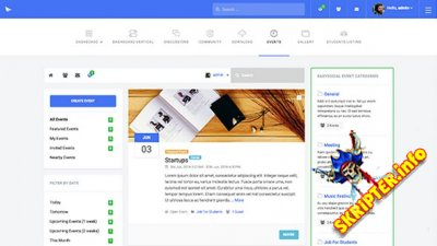 JA Intranet v1.1.1 - бизнес Hi-Tech шаблон для Joomla