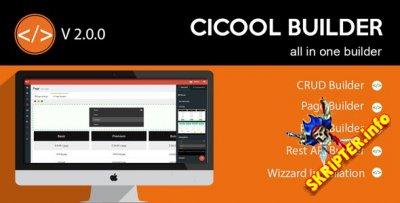 Cicool Builder v2.0.0 - конструктор веб-приложений