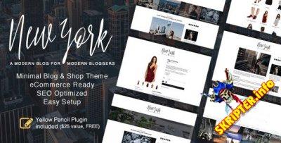 New York v1.4 - блоговый шаблон для WordPress