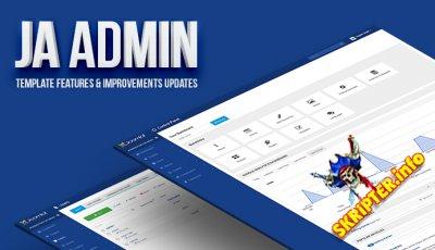 JA Admin v1.0.9 - шаблон панели администратора для Joomla