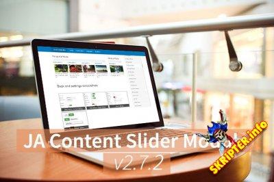 JA Content Slider v2.7.2 - слайдер новостей для Joomla