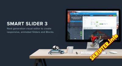 Smart Slider Pro v3.3.10 - многофункциональный слайдер для Joomla