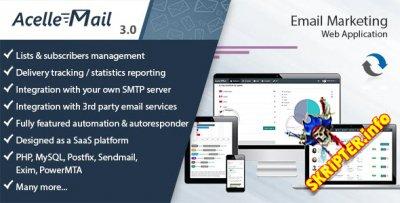 Acelle Mail v3.0.2 - скрипт электронного маркетинга