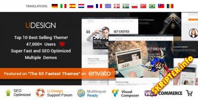 uDesign v2.13.0 Rus - бизнес шаблон для WordPres3.0