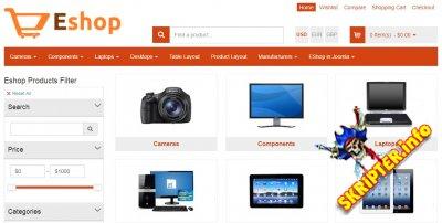 OS Eshop v3.0.2 - компонент интернет магазина для Joomla