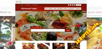 vRestaurant v1.0.0 - создание сайта для ресторана на Joomla