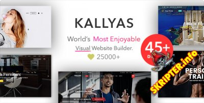 Kallyas v4.14.1 - многоцелевой шаблон для WordPress