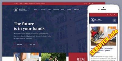 JA Alumni v1.0.3 - шаблон образовательного сайта для Joomla