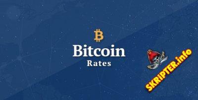 Bitcoin Rates v1.0 - скрипт сайта для биткойнов