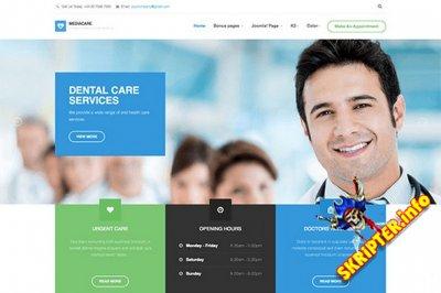 JA Medicare v1.1.8 - медицинский шаблон для Joomla