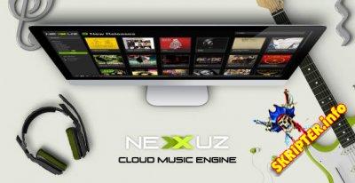Nexxuz v1.0.9 - скрипт музыкального сайта