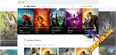 JS Moview v1.8 - кино шаблон для Joomla