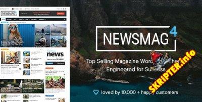 Newsmag v4.9.2 Rus Nulled - новостной шаблон для WordPress