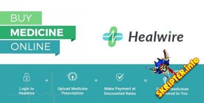Healwire v3.0.1 - скрипт интернет-аптеки