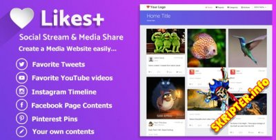 Likes Plus v1.0 - скрипт мультимедийного сайта
