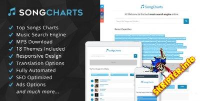 SongCharts v1.0 - скрипт музыкального сайта