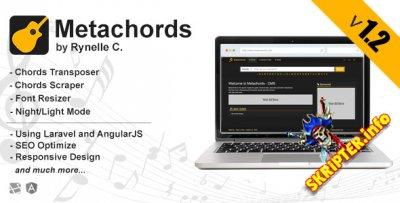 Metahords CMS v1.2 - поисковая система гитарных аккордов