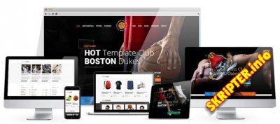 HT Basketball v2.1.3 - спортивный шаблон для Joomla
