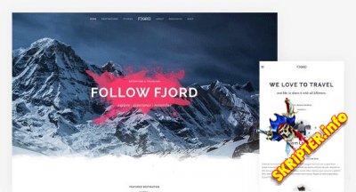 YOO Fjord v1.9.2 - шаблон путешествий и приключений для Joomla