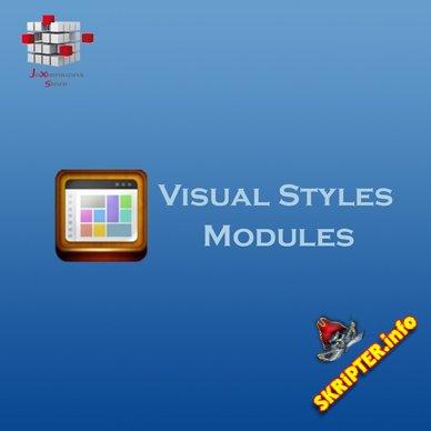 Visual Styles Modules v1.6.2 - компонент визуальных стилей для Joomla
