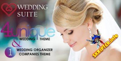 Wedding Suite v2.6.4 Rus – свадебный шаблон для WordPress