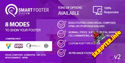 Smart Footer System v2.5.4 - Footer Plugin for Wordpress