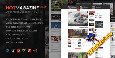 Hotmagazine v2.2.0 - универсальный шаблон для WordPress