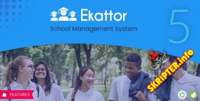 Ekattor School Management System Pro v5.6 Nulled