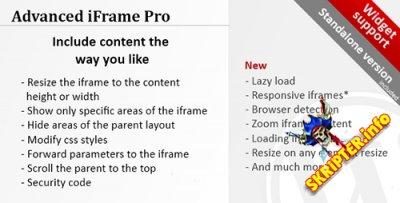 Advanced iFrame Pro v7.5.2 - создание фреймов для Wordpress