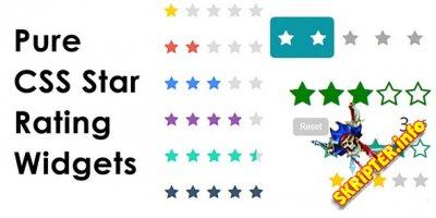 Pure CSS Star Ratin v1.0