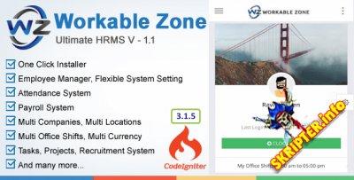 Workable Zone v1.1 - скрипт управления персоналом