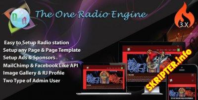The One Radio Engine v3.0.1 - скрипт онлайн-радио