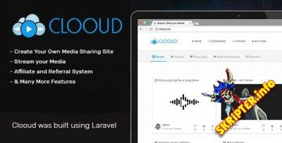 Clooud v1.4.0 - скрипт мультимедийного сайта