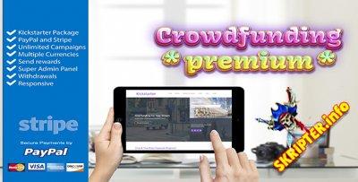 Crowdfunding Starter v1.20 - лучший Kickstarter скрипт