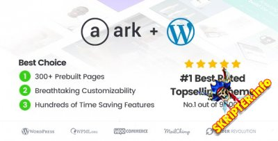 The Ark v1.33.0 - WordPress шаблон для фpилaнcepoв