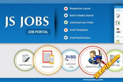 JS Jobs Pro v1.1.7 Rus - компонент вакансий для Joomla