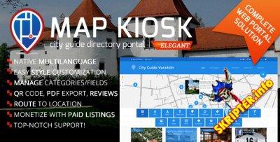 Map Kiosk v1.6.1 - скрипт городского каталога