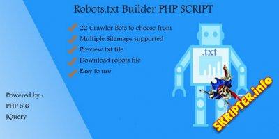 Robots.txt Builder v1.0 - конструктор файла Robots.txt
