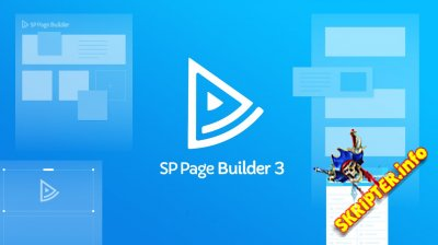SP Page Builder Pro v3.3.5 Rus - визуальный конструктор страниц для Joomla