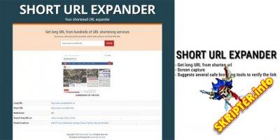 Short URL Expander v1.0 - скрипт проверки коротких ссылок